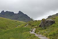 Ben Arthur - The Cobbler. Cloud, mist and rain permitting you should now have great views of whats ahead