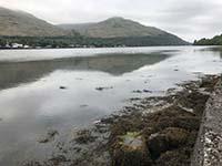 Ben Arthur - The Cobbler. View down the loch away from Arrochar