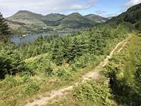 Ardgoil peninsula. Back on a trail path