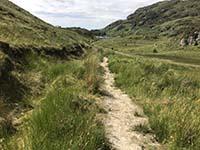 Ardgoil peninsula. First sight of the Lochan