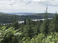 Ardgoil peninsula. Loch Long and the Gareloch