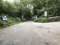 Loch Venachar loop. Straight ahead following cycle route 7