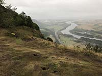 Kinnoull Hill. Looking towards Dundee