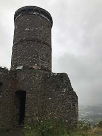 Kinnoull Hill. Close up of the tower