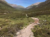 Lairig Grhu hill race. Image from Lairig Grhu hill race