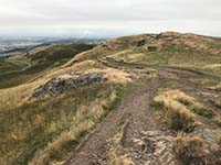 Dumyat hill run. Image from Dumyat hill run