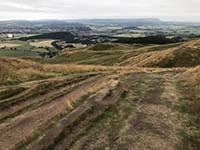 Dumyat hill run. Enjoy the views on the way back.