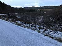 Queen Elizabeth forest park. Ben Venue with a cap of snow