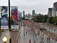 Chicago marathon.