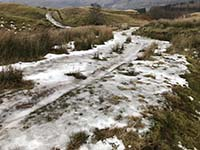Glens Kendrum and Ogle. With ice, this part is a nightmare