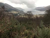 Glens Kendrum and Ogle. Overlooking the loch