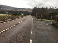 Glens Kendrum and Ogle. Turn left onto Glen Ogle path just before village limits
