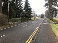 Glens Kendrum and Ogle. Car park on the left just after the police station