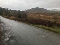 Aberfoyle to Loch Venachar. Hills in the background