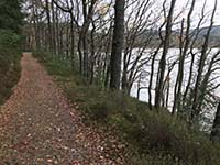 Aberfoyle to Loch Venachar. Good quality trail path beside the loch
