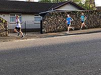 Helensburgh 10K. Heading along east Argyle Street