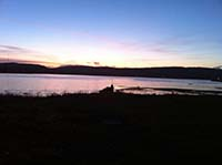 Helensburgh - Glen Fruin. Sunset from Kidson park