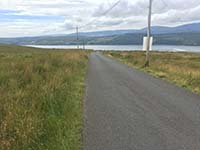 Helensburgh - Glen Fruin. Towards the Gareloch and submarine base