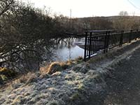 Helensburgh - Glen Fruin. The Black Bridge and an old popular picnis spot