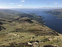 Ben Lomond. The loch stretching out before you