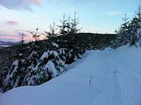 Firmounth. Winter morning