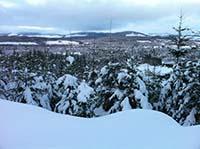 Firmounth. Deeside in winter