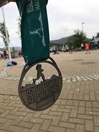 Skye half marathon. The medal again