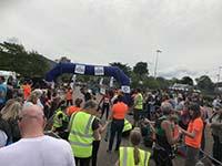 Skye half marathon. The end is close