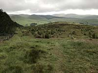 Glen Sherup loop. View down the hill