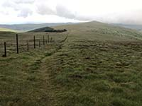 Glen Sherup loop. View back down the hill