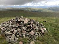 Glen Sherup loop. Another cairn.  Lots of stone in this place