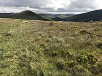 Glen Sherup loop. The last of the climbs ahead