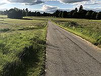 Loch Skene . Open road and fewer midges