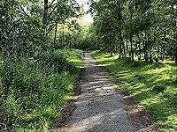 Loch Skene . The path ahead