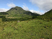 Glen Loin Loop. Hills all around