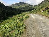 Glen Loin Loop. Route ahead
