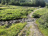 Glen Loin Loop. The small ford to cross