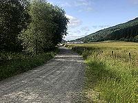 Glen Loin Loop. Approaching Succoth