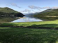 Glen Loin Loop. Early morning and Loch Long is still