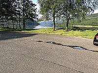 Glen Loin Loop. The car park and picnic area