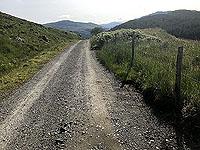 Glen Loin Loop. The road behind