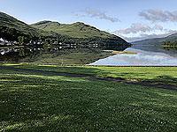 Glen Loin Loop. The loch and Arrochar