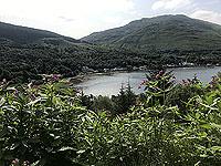Glen Loin Loop. Looking down at Arrochar