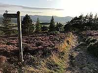 Scolty hill and more. Rocky part of the path