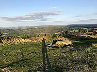 Scolty hill and more. From the hill top