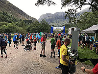 Glen Coe Marathon. Ready for the start
