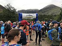 Glen Coe Marathon. Nerves starting to build