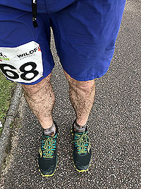 Glen Coe Marathon. And those legs are still covered in mud from the boggy section