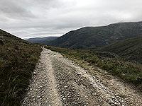 Glen Coe Marathon. Road seems to go on forever