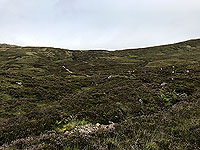 Glen Coe Marathon. Through the bogs, just before the climb